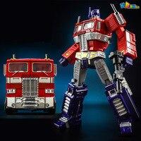18Cm Alloy Version Optimus Prime MP10V Figures Model Robot Autobots Deformation Commander Classic Edition Action Toys