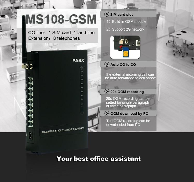 Мини Беспроводная GSM АТС с SIM-картой - Коммуникационное оборудование - Фотография 3