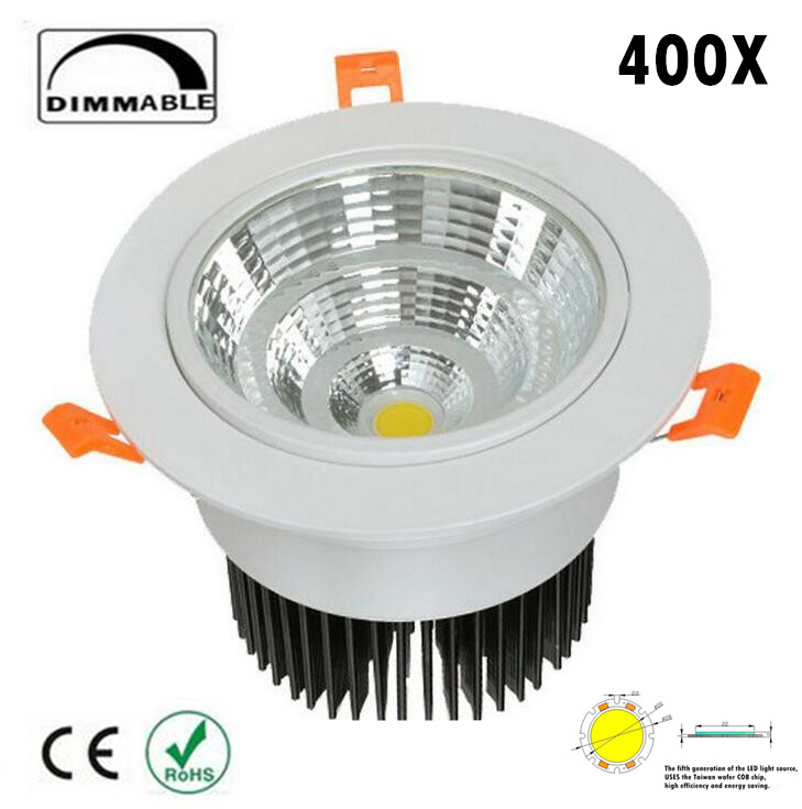 LED Downlight 30 W Spot Dimmable LED DownLight AC85-265V LED Spot encastré maison blanche