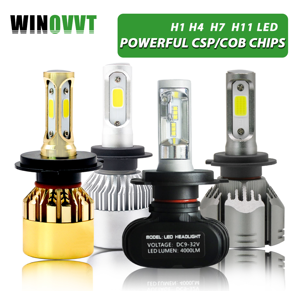 H7 Led H1 H3 H4 H11/H8/H9 9005/HB3 9006/HB4 Scheinwerfer Birne 50 Watta 8000LM 6000 K S1 Automobil Lampe 12 V Nebel Licht