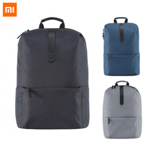 2017 New Xiaomi Style Faculty Backpack Bag 600D Polyester Sturdy Luggage Go well with For 15.6 Inch Laptop computer Pc