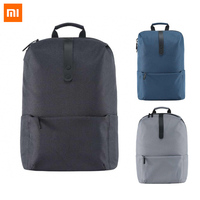 100 Original Xiaomi Preppy Style Backpack Students School Bags With 25L Capacity For 14 Inches Computer