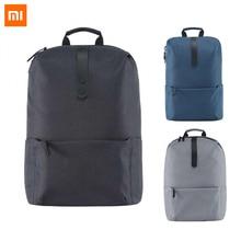 2017 新xiaomiファッションスクールバックパックバッグ 600Dポリエステル耐久性のあるバッグスーツ 15.6 インチのラップトップコンピュータ