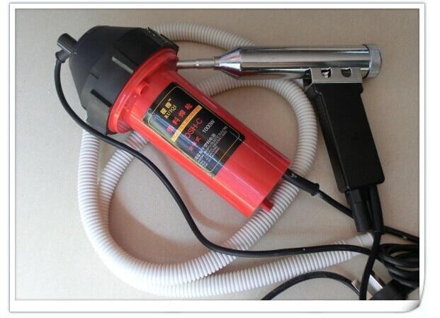 где купить  Hot Air Torch Plastic Welding Gun Welder Pistol 1000w+ 10meter  welding rods PP/PE/PVC/ABS/PPR each 2meter+1pc heat element  по лучшей цене