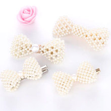 Pearl Metal Hair Clips Women Hairpin Girls Hairpins Barrette Bobby Pin Hairgrip Accessories  New Arrival