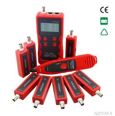 NOYAFA NF-868W Latest Version Cable Wire Tracker Tester Errors Fault checker Length tester 8 remote units