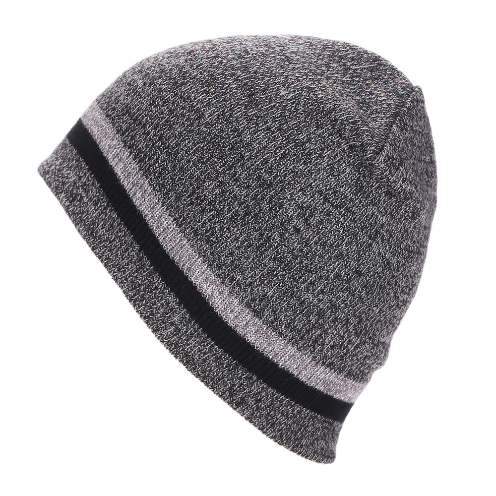 Brand Beanies Knit Men's Winter Striped Caps Skullies Bonnet Hats For Men Women Beanie Warm Baggy Wool Knitted Hat Female LZ116 brand skullies winter hats for men bonnet beanies knitted winter hat caps beanie warm baggy cap gorros touca hat 2016 kc010