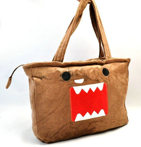 Wholesale 10pcs/lot DOMO kun plush toys plush cartoon DOMO Single shoulder bag by EMS free shipping W083-4