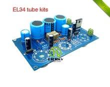 hifi EL34 kits kt88 amplifer kit ECC83 single-ended Class A tube amplifier Kits 10W+10W hifiboy
