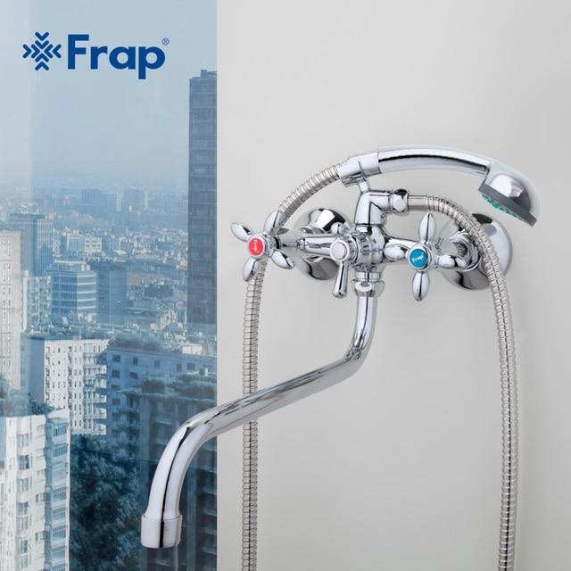 Frap Fixer Faucets Home Bathroom Faucet Basin Mixer Tap Cold Hot ...