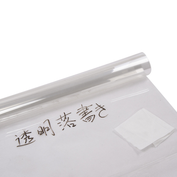 HOHOFILM 152cm*500cm Clear Writing Film Whiteboard Film for Teaching Make Sign Film on glossy&smooth surface