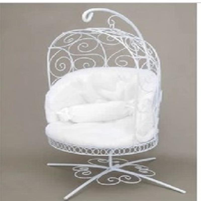 1/6 BJD Doll  Miniature Furniture Basket Iron Chair - Pullip Msd