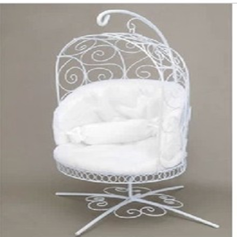 1/6 BJD Doll  Miniature Furniture Basket Iron Chair - Pullip Msd