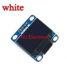 Бесплатная Доставка Белый и Синий цвет 0.96 дюймов 128X64 OLED Дисплей Модуль Для arduino 0.96 IIC SPI Общаться