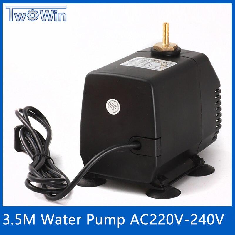80 W Pumpe Cnc Gravur Maschine Werkzeug Kühlung Cnc Spindel Motor Wasserpumpe 220 V 80 W 3,5 M Für 1.5kw 2.2kw Spindel Motor Ausgereifte Technologien Sanitär Pumpen