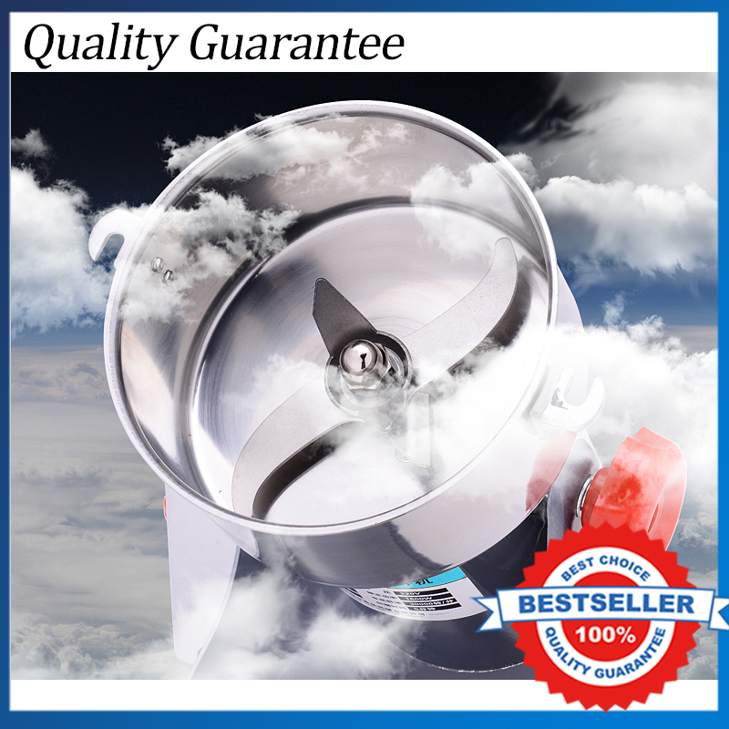 Free shipping 110v or 220v available Hot Sale Electric 700g Multifunction Chinese Herbs Grinder Swing Type Mill Powder MachineFree shipping 110v or 220v available Hot Sale Electric 700g Multifunction Chinese Herbs Grinder Swing Type Mill Powder Machine