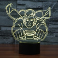 Acrylic 7color 3D Night Lights superman Justice league superman visual illusion LED lamp action figure toy Home Decor IY803370
