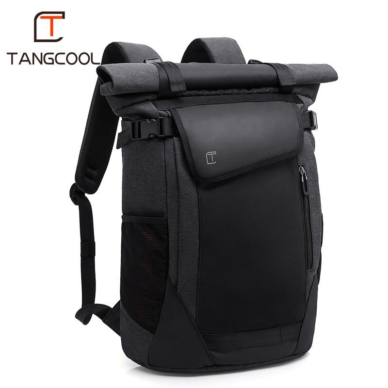 TANGCOOL Brand New Korean Style Men Fashion Backpacks Unisex Women School Backpack for Cool Boys 15