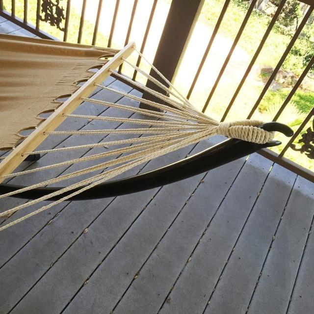 Heavy Duty Tri Beam Outdoor Patio Swing Hammock Steel Hammock Stand