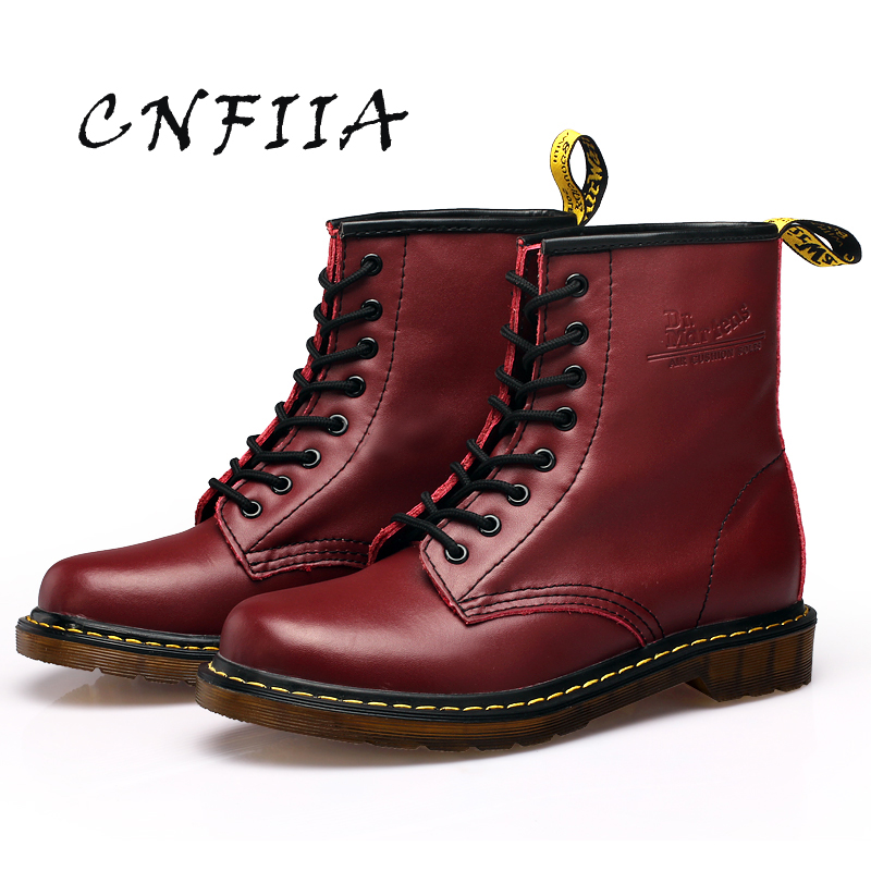 slip Trekking 45 Noir Martens brown Hommes Boots Confortable Bottes Black red 2018 Anti Brun En Cuir Cnfiia La Casual Boots Rouge Chaussures Boots Plus Taille Ovq8Zxx