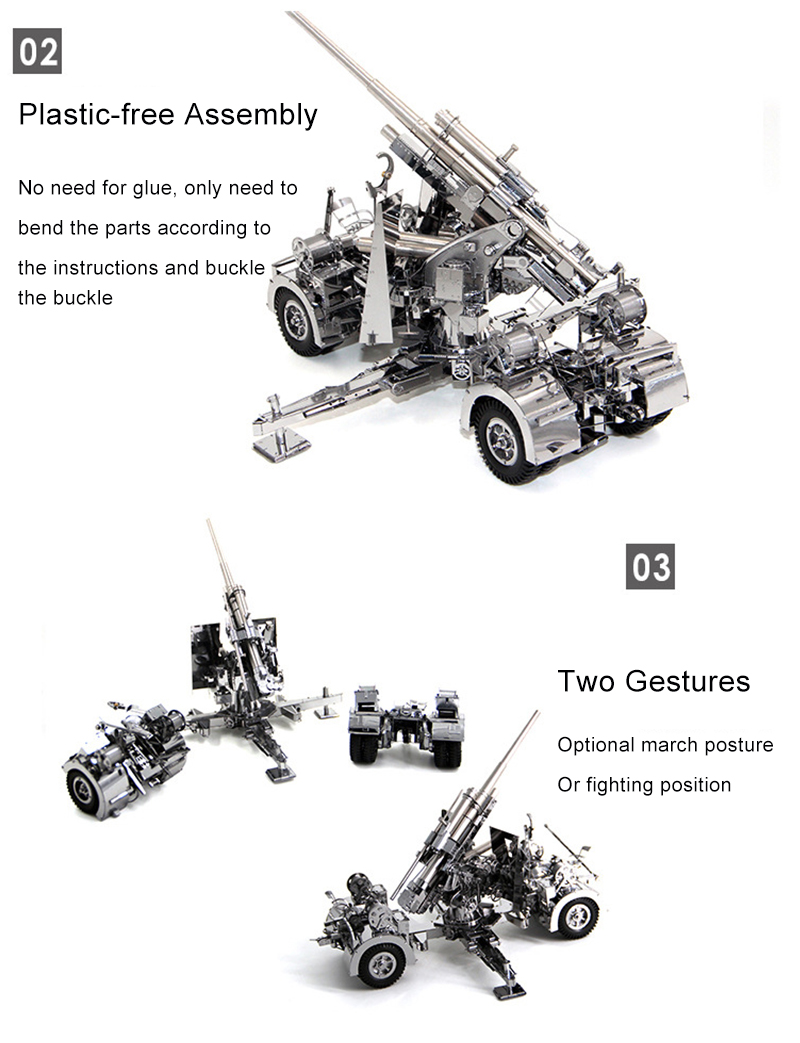 Air Defense Anti Artilharia Tanque Adulto Crianças