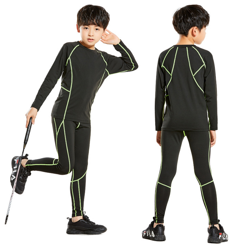 Gym Clothes Boys Sport Suits Exercise Boys Sport Clothes Set Boy Kids Boys  Sport Suit Quick Dry Joggins Sets kids Gym Clothing Trainning & Exercise  Sets  - AliExpress