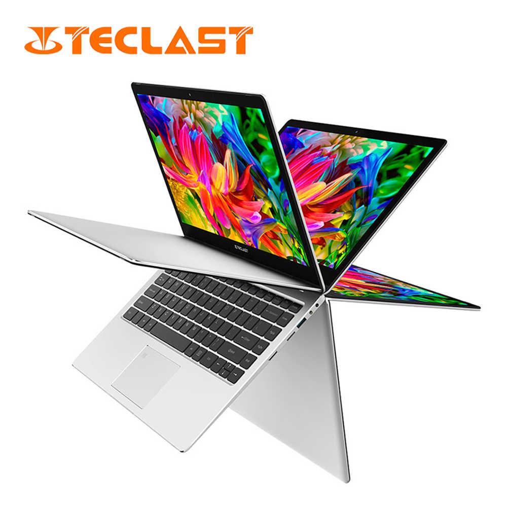 محمول Teclast F6 برو 13.3 بوصة ويندوز 10 RAM 8GB 128GB SSD إنتل كور m3-7Y30 ثنائي النواة الجبهة كاميرا الإنجليزية لوحة المفاتيح دفتر