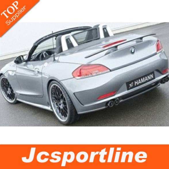 Top selling FRP unpainted grey primer rear wing, trunk spoiler for BMW E89 Z4 09-13(Fits for BMW E89 Z4 HM style 09-13) hsp clutch bell sets 81020 fit hsp rc 1 8 on road car off road truck 94081 94086