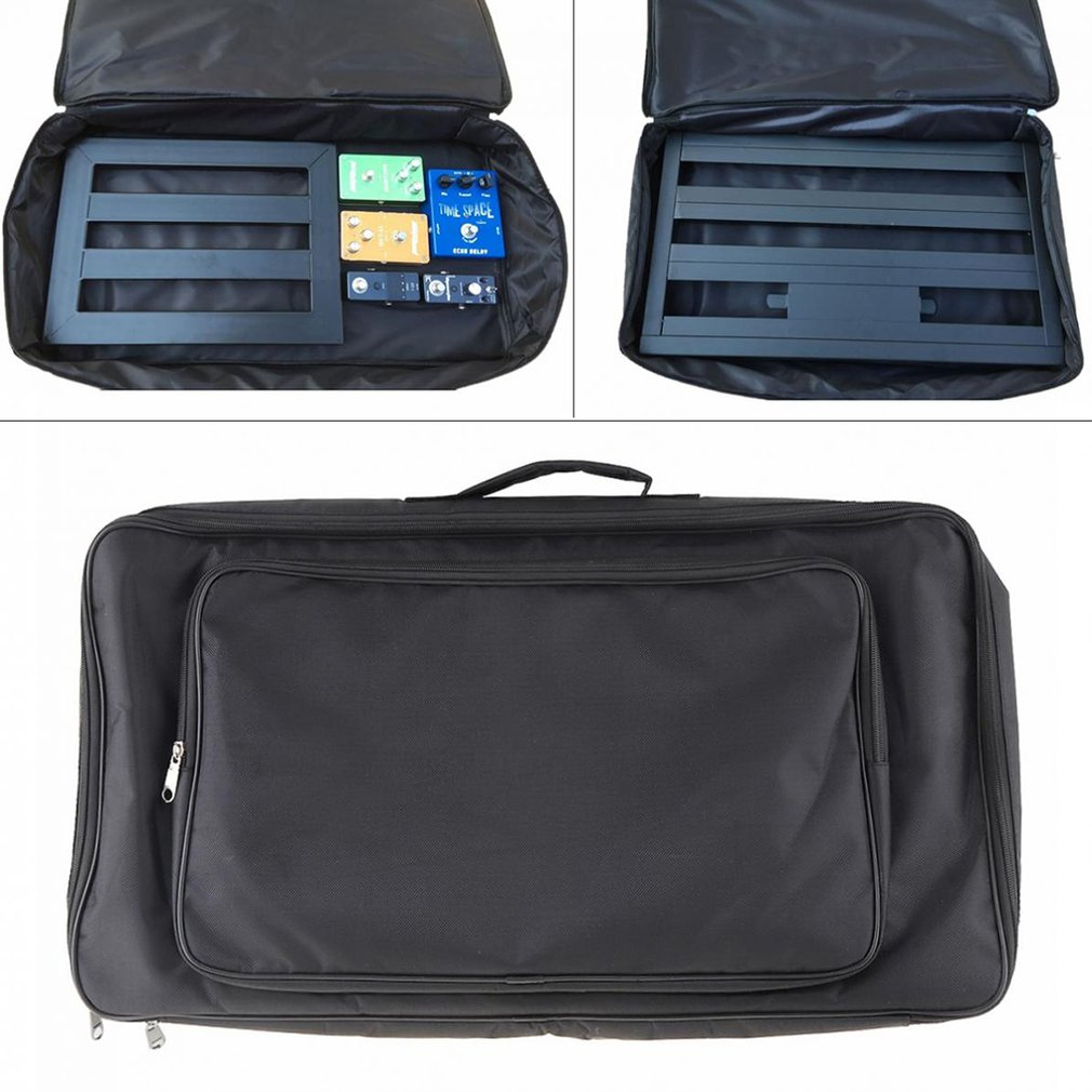 BianchiPatricia Portable effect electric guitar pedal board case storage backpack