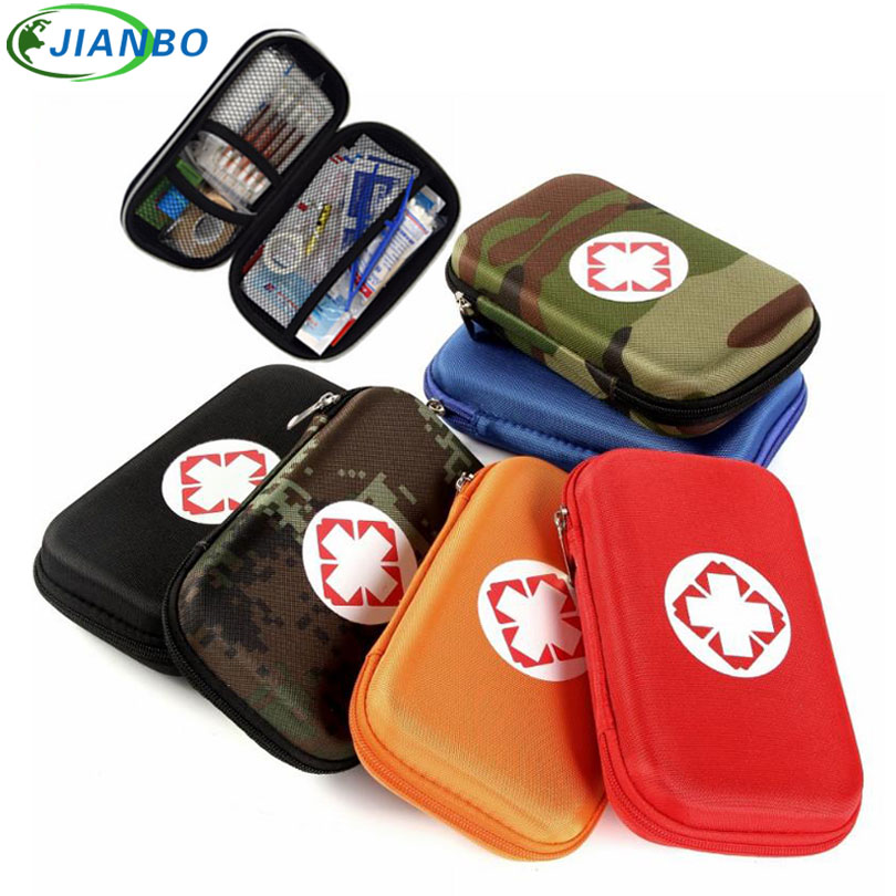 Camouflage Person Portable Outdoor Waterproof EVA First Aid Kit Bag For Family Travel Survival Emergency Kits Medical Treatment