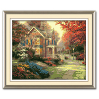 MaHuaf A909 Max Size 60x75cm Frameless DIY Oil Painting By Numbers DIY Digital Oil Painting On