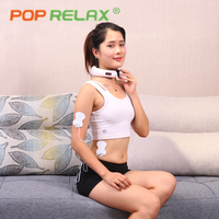POP RELAX Electric Neck Massager Cervical Massage Instrument Wireless Electrical Muscle Stimulation Stimulator EMS Tens Machine