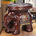 home decoration accessories elephant stool stools for Home Furnishing European style living room decoration elephants pouf poef