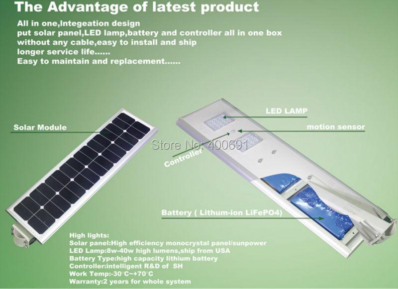 25W solar light