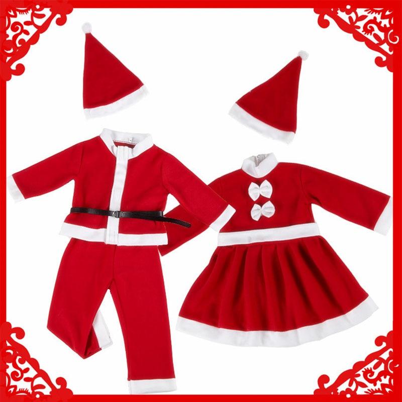 Child christmas cosplay Santa Claus cosplay Christmas Costume for Girl Kid Chlidren Cosplay Costume Baby boy girl christmas set