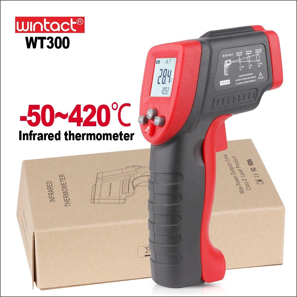Termometro digitale Laser Sensori Termometro Digitale Misuratore di Temperatura Termometro A Infrarossi del Laser WT300 WT550 WintactTermometro digitale Laser Sensori Termometro Digitale Misuratore di Temperatura Termometro A Infrarossi del Laser WT300 WT550 Wintact