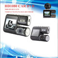 I1000 HD1080 Car Auto DVR Dual Lens 2017 New Vehicle traveling data Camcorder Black Box With Rear 2 Cam Vehicle View Dashboard