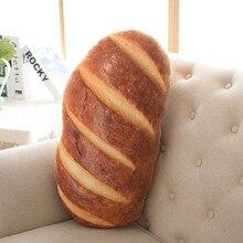 50cm 70cm 3 kinds Creative Bread Pattern Pillow Funny Soft Massage Neck Pillow PP Cotton Filler Cervical Health Care Pillow