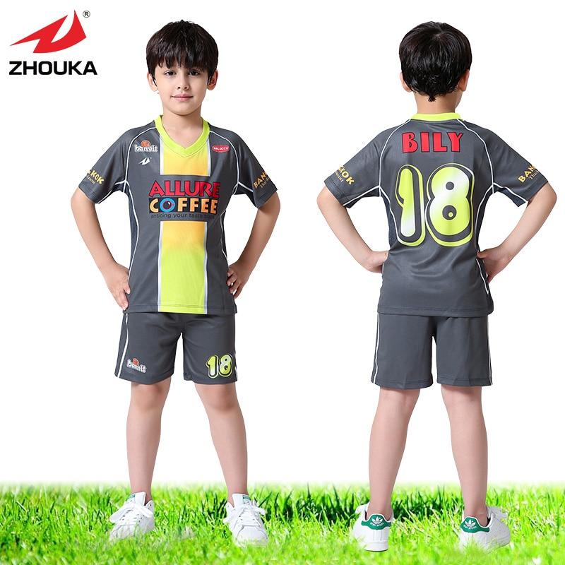 269256da1 OEM kids soccer jersey,China sport children football wholesale,short ...