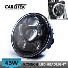 "CARLitek 5 3/4 "" Harleys Headlight  5.75 "" New Harleys-Davids Daymakers LED Headlamp For Softail Dyna And Sportster Models"