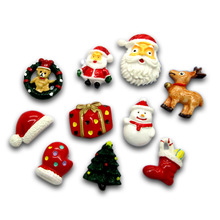 Scrapbooking-Decorations Embellishments Hair-Clips Crafts Christmas-Series Beads Flatback Cabochon