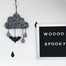 Ins Hot Nodic Batman Cloud Newborn Baby In The Crib Infant Room Decor Photography Props Baby Bedroom Decoration