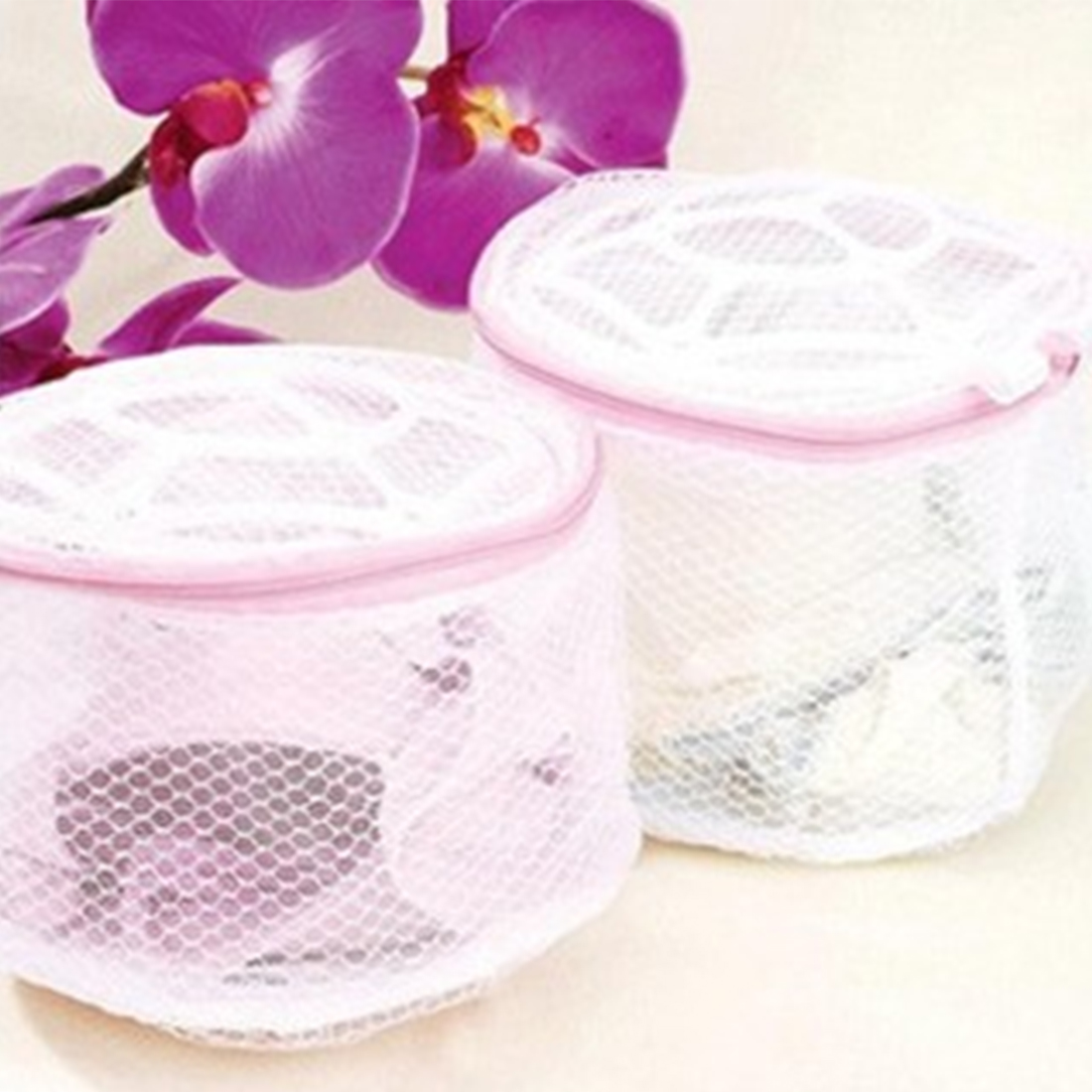 Useful 1pc Convenient Bra Lingerie Wash Laundry Bags Home Using Clothes Washing Net