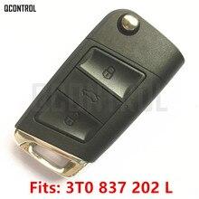 QCONTROL Car Remote Key Suit for SKODA 3T0837202L Citigo/Fabia/Octavia/Rapid/Roomster/Superb/Yeti 5FA010413 12 with ID48 Chip