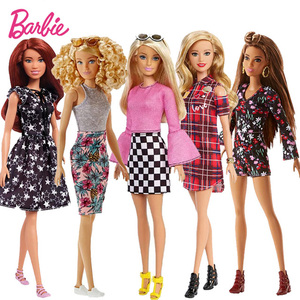 Original Barbie Brand Fashion Clothes Style Dreamer Girl Doll Toys Birthdays Girl Gifts For Kids Boneca Reborn Toys For Children