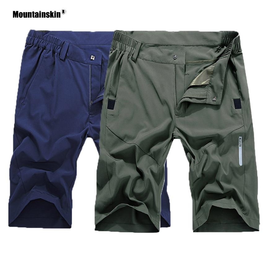 Mountainskin Men's Summer Quick Dry Breathable Shorts Outdoor Sportswear Hiking Trekking Running Camping Climbing Male VA414