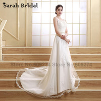 Ivory Lace Mermaid Wedding Dresses 2015 Hot Sale Sweet Handmade Crystals Bridal Gowns Wedding Gown Vestidos