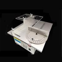 New Miniature High Precision Table Saw DC 24V 7000RPM Cutting Machine DIY Model Saws Precision Carpentry