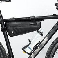 Bicycle Front Beam Triangle Bag Waterproof Tpu Mountain Road Bike Long distance Riding Saddle Bag 2018 Newest