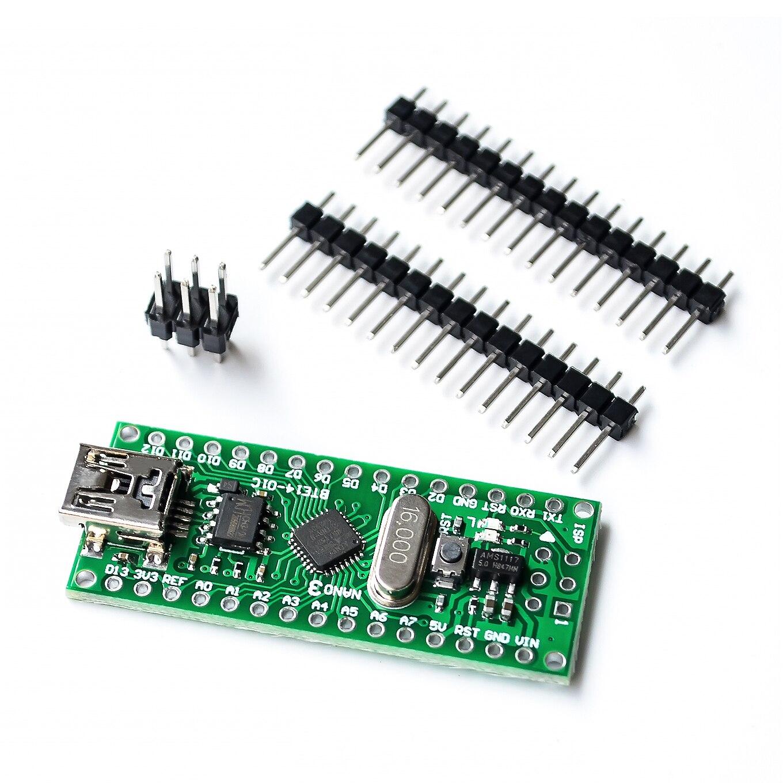 Nano V3.0 3.0 ATmega168 CH340G CH340 Mini USB UART Interface Board Micro controller Module For Arduino 3.3V 5V Microcontroller